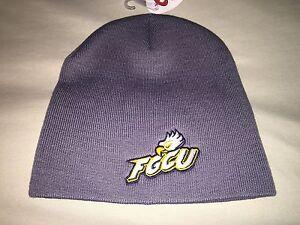 b71fa16d01f3a NEW FGCU FLORIDA GULF COAST UNIVERSITY BEANIE CAP GRAY EAGLES WINGS ...