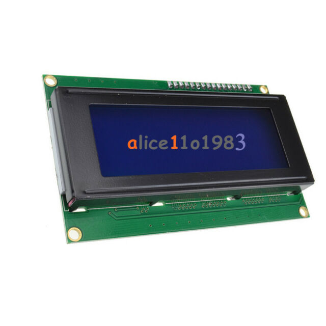IIC/I2C/TWI/SP​​I Serial Interface2004 20X4 Character LCD Module Display Blue