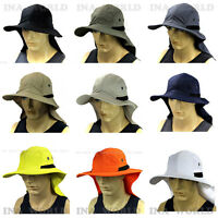 Boonie Cap Sun Flap Bucket Hat Ear Neck Cover Cool Soft Material Fishing Hunting