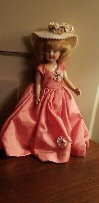 NEW IN PLASTIC Premier Vintage Pink Doll Dress