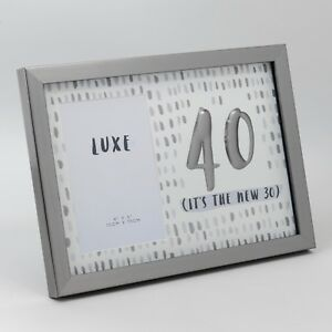 Image Is Loading Luxe Birthday Male Gun Metal Frame 4