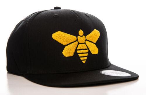Cappello Breaking Bad Methylamine Barrel Bee logo Snapback Cap nero