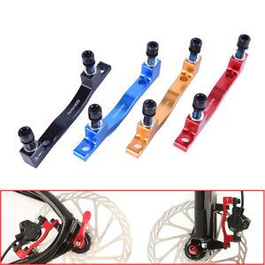 MTB-Bike-Disc-Brake-Caliper-Adapter-Post-Mount-PM-203mm-Rotor-Front-Rear-Set-RF
