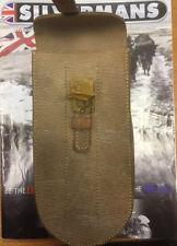 British army Leather ammo pouch dated 1941 Sten Gun