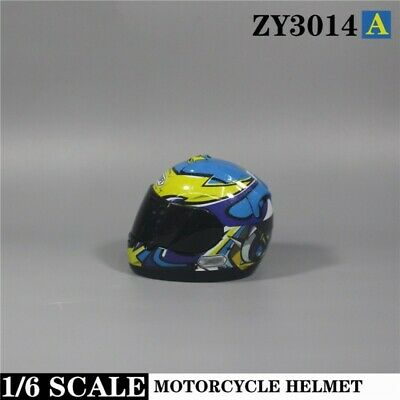 ZYTOYS ZY3014 1//6 Scale Motorcycle Helmets Model Scene Fit 12/'/' Action Figure