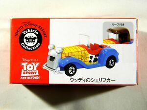 Tokyo-Disney-Land-TOMY-TOMICA-Woody-Sheriff-Car-Sea-Resort