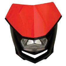 Polisport Halo H4 Headlight CR Red Motorcycle Enduro Universal Head Light NEW