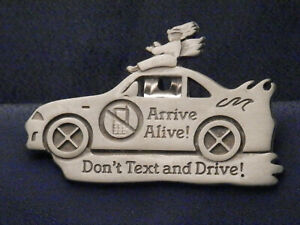 Angel-Visor-Clip-Don-039-t-Text-and-Drive