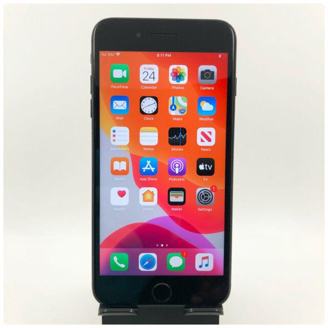 Apple iPhone 7 Plus - 128GB Jet Black (Unlocked) A1661 (CDMA + GSM)