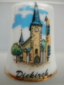Dé à coudre Thimble - LUXEMBOURG - DICKIRCH EGLISE em2gAzyn-09172318-112524056