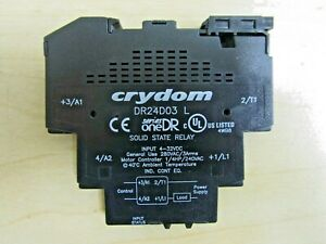 Crydom DR24D03 L Solid State Relay NEW - no box