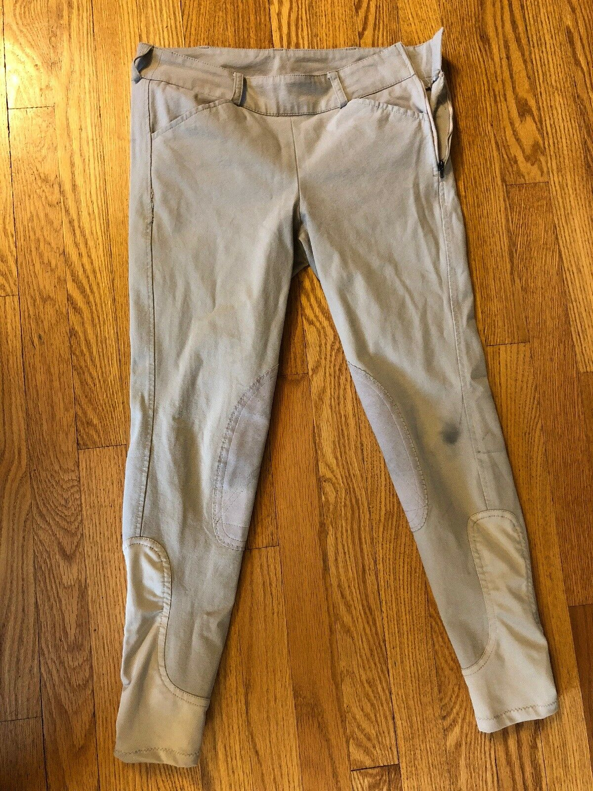 TAILORED SPORTSMAN Side Zip Equestrian RIDING Breeches Ladies  sz. 28