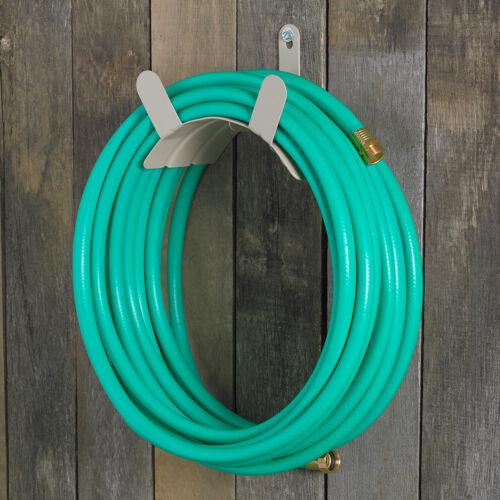 2 ea Liberty # 691 Powder Coated Steel Garden Hose Hanger Brackets