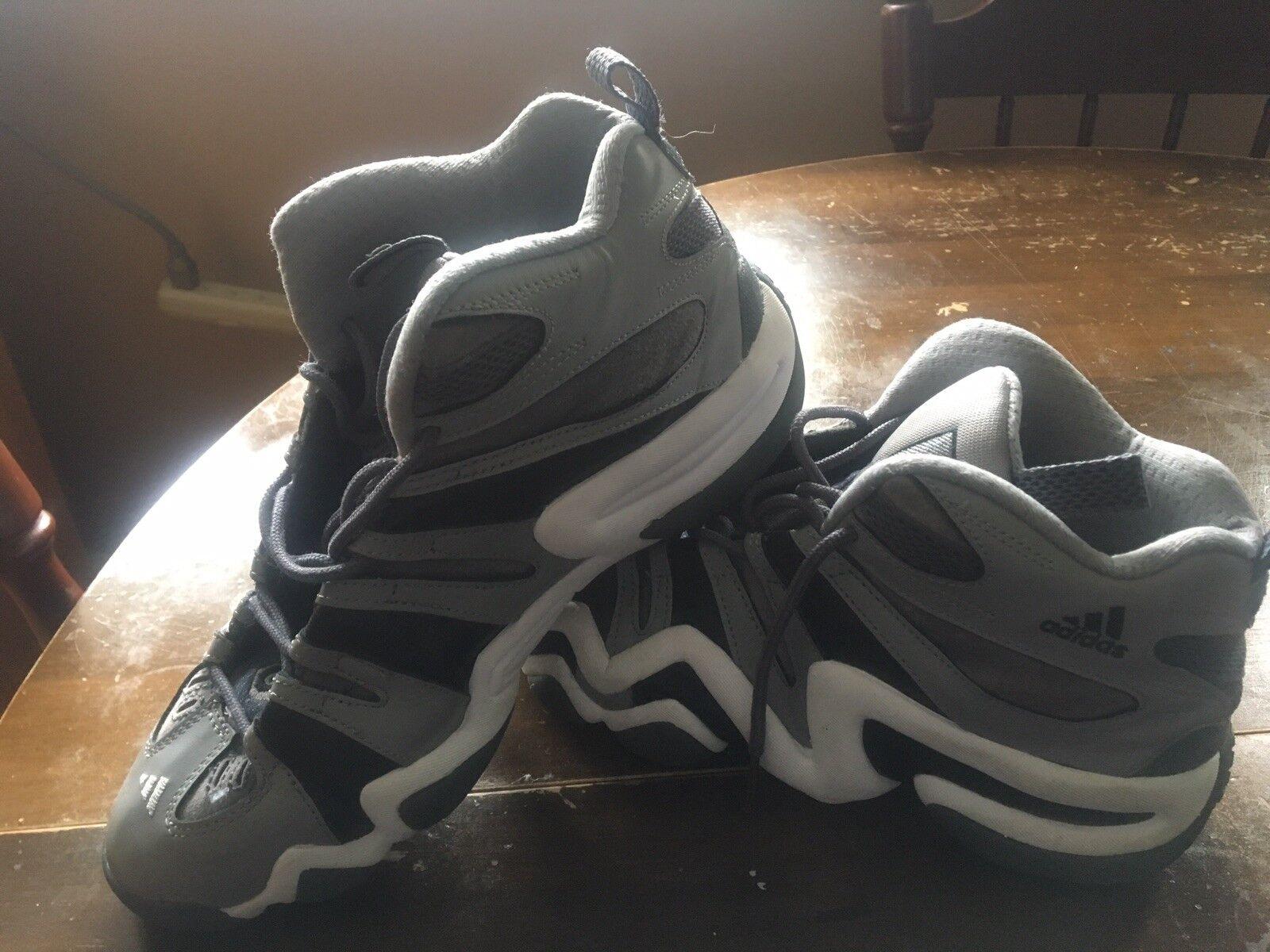 Original Kobe adidas crazy 8 size 10 (grey)