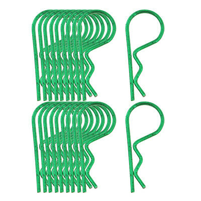 20pcs//pack Body Shell Clips R Type Set for 1//10 1:12 1//16 RC Car Truck