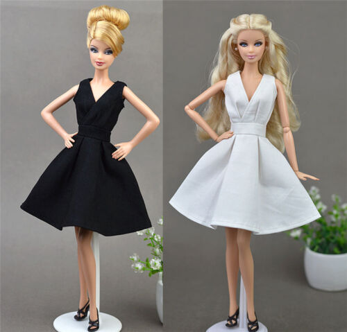 2 Set Fashion Evening Party Princess Dress for 11.5in.Doll Xmas Gifts C20