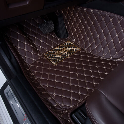 Fantastic Carpet Leather FS945 Car Floor Mats For Jaguar XF 2009-2015 Waterproof