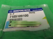 GENUINE SSANGYONG ACTYON SPORTS UTE 2.0L TURBO DIESEL ALL MODEL PLATE KEY
