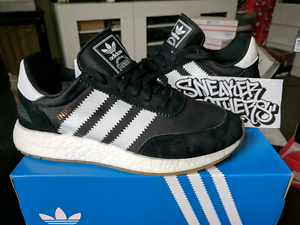 Adidas Originals Iniki Runner Boost Core Black Running White Gum BY9727 NMD