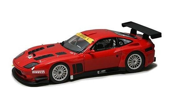 Ferrari 575 GTC Evoluzione  Red  2005 (Kyosho 1 18   K08392B)
