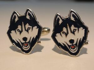 UCONN-Cufflinks-Huskies-NCAA-University-of-Connecticut