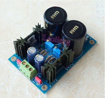 AC-DC TL431 + LM317/337 High precision Linear Regulated Power Supply Module