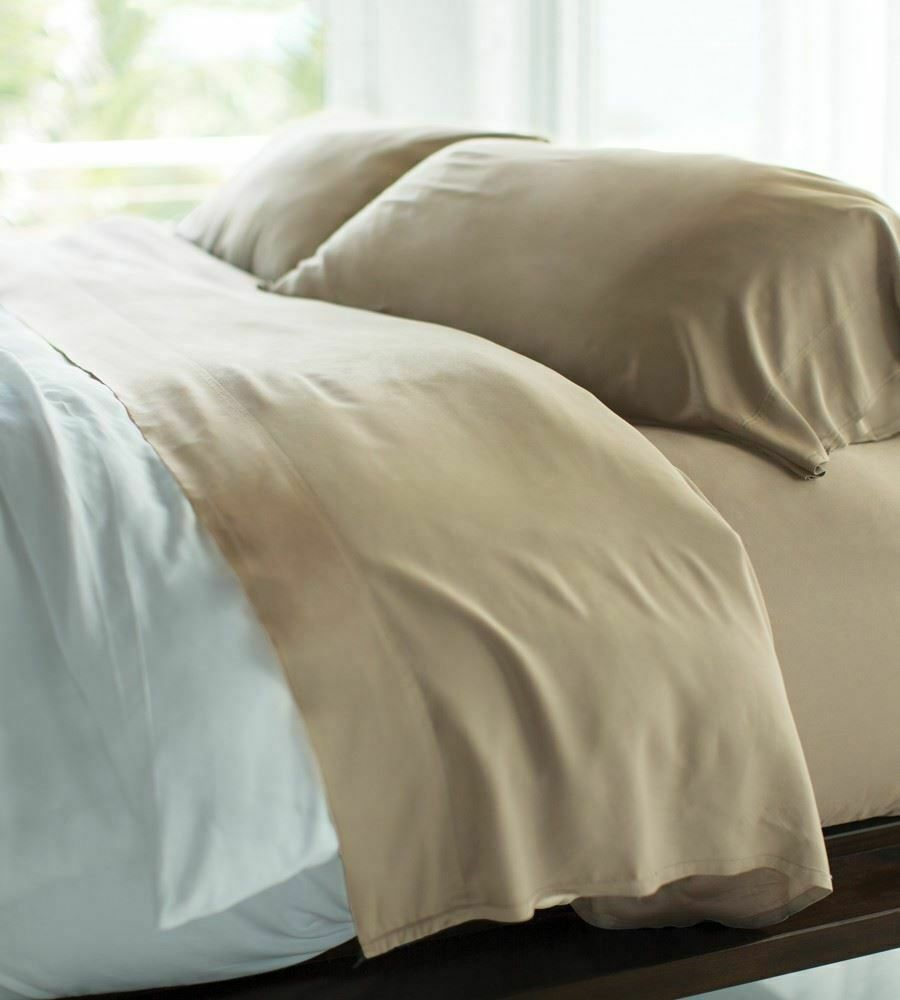 Cariloha Resort Bamboo Bed Sheets - Beachwood