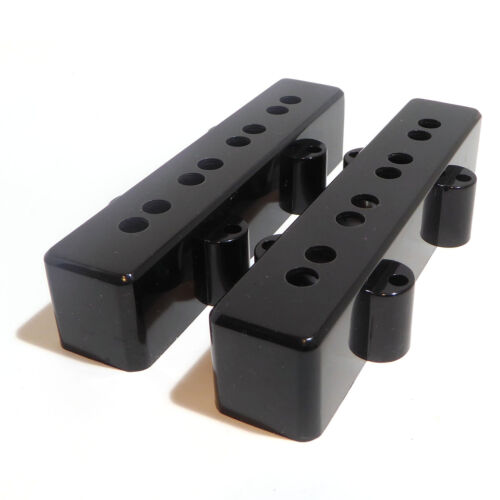Jazz Bass Guitar Pickup Covers Gloss Finish 63 and 65mm Pole Spacing