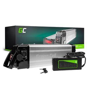 E-Bike Akku 36V 8.8Ah Li-Ion Elektrofahrrad Green Cell Batterie mit Ladegerät