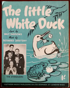 The Little White Duck by Walt Barrows & Bernard Zaritzky – Pub. 1950