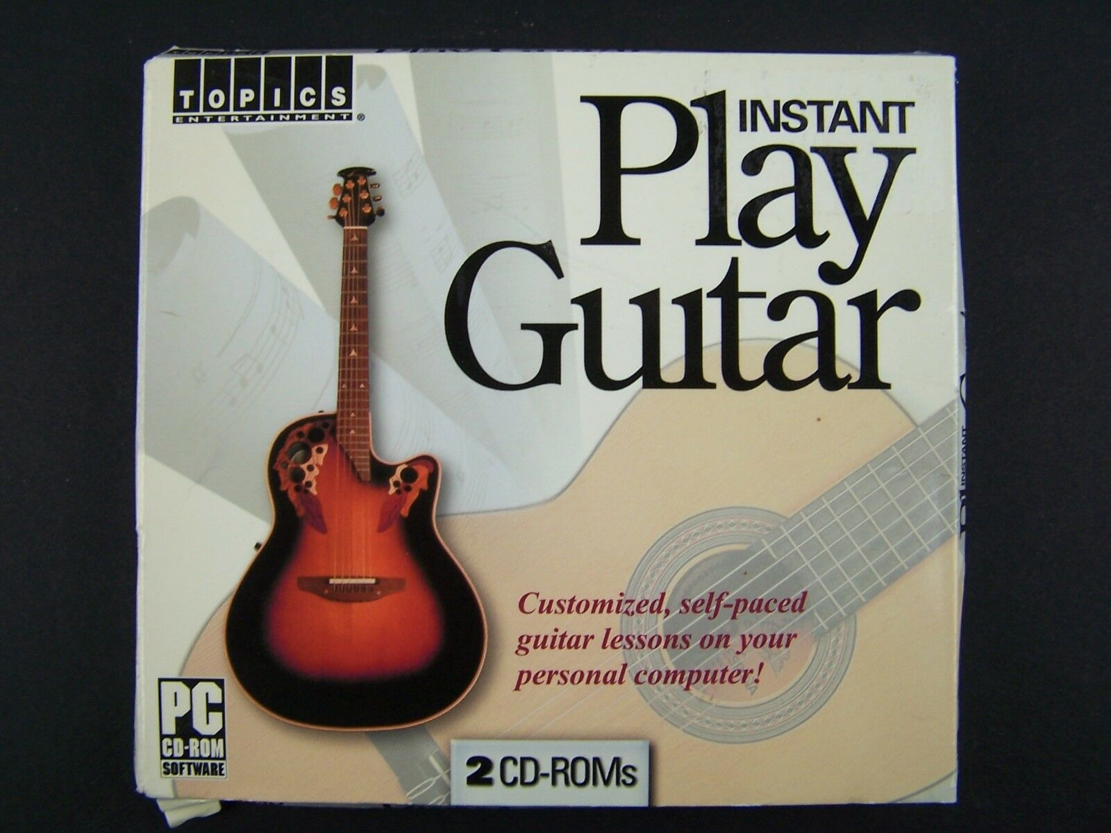 Instant Play Guitar Audio 2xCD 781735804452