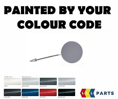 VW POLO GTI FRONT BUMPER TOW HOOK EYE COVER PAINTED BY YOUR COLOUR CODE