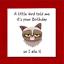 Al-Grumpy-Cat-cartolina-di-Compleanno-per-chi-ama-i-gatti-Divertente-divertente-fun-PUFFO-BRONTOLONE miniatura 4