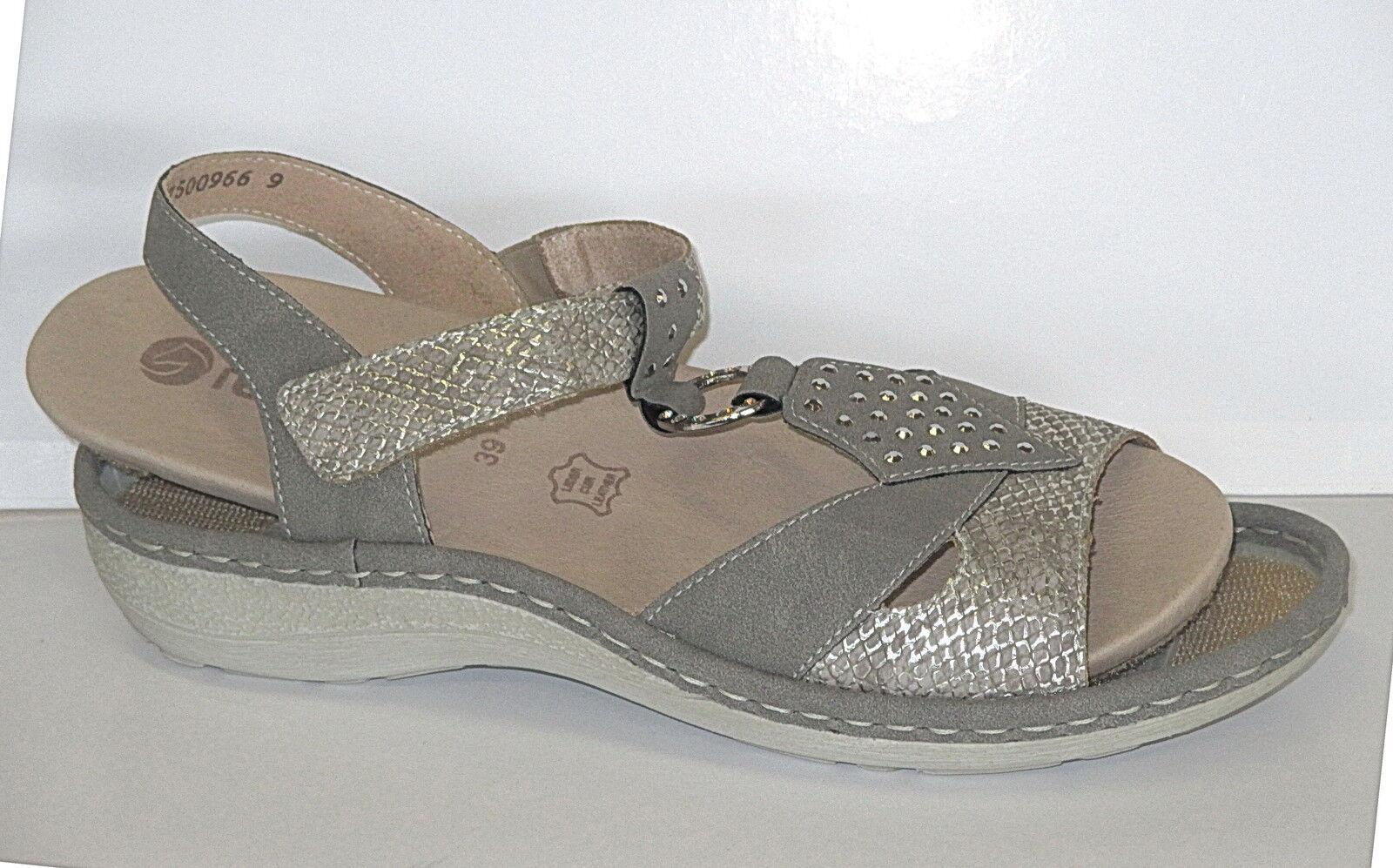 REMONTE Chaussures Femmes Sandale Avec Semelle intérieure amovible, taille 39-41, + Neuf +