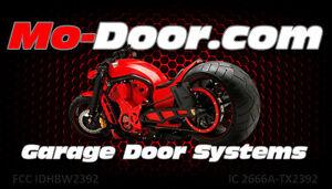 Mo Door Factory Hd Motorcycle Garage Door Opener W 12