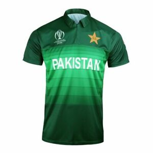 PAKISTAN 1 DAY CRICKET JERSEY RETRO BY AJ SPORTS SIZE MEN/'S LARGE BRAND NEW