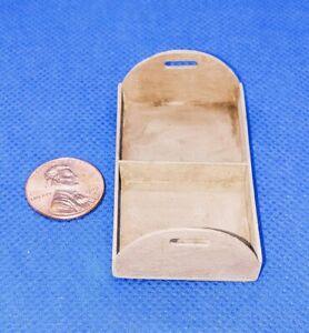 Casa-de-Munecas-Miniatura-Handmade-Bandeja-Caddie-Worn-1-12-Escala