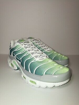 Nike Air Max Plus OG Tuned TN MINT Ghost Green White Frost 852630 302 Sz 10