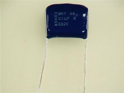 100PCS PHILIPS MKT  0.1uF 100V 63V 104  Film Capacitor Metallized polyester film