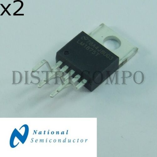 lot de 2 LM1875T 20-W Audio Power Amplifier TO-220-5 National RoHS