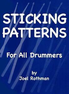 Acheter Pas Cher Joel Rothman: Coller Patrons Pour Tous Les Tambours Drums Feuille De Musique Instrumentale-afficher Le Titre D'origine