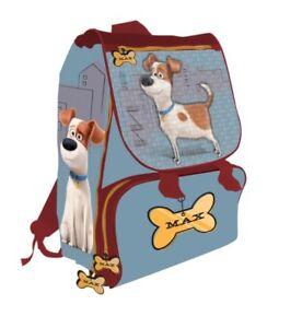 Zaino Cartella Per Scuola Estensibile 40 CM Cane Pets - Vita Da Animali