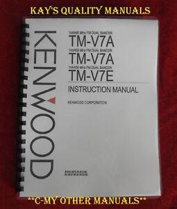 kenwood tm v7 manual