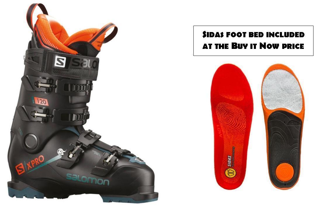 Salomon X Pro 120 Skischuh Größe 28.5 (inkl. FOOTBED im Preis von BuyItNOW) NEU 2019