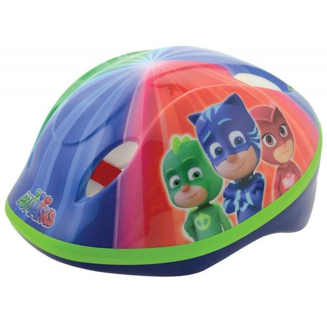 PJ Masques Fort sécurité BICYCLETTE CASQUE enfants 48cm - 54cm