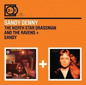 Sandy-Denny-2-FOR-1-The-North-Star-Grassman-and-the-Ravens-Sandy-2-CD-NEUF