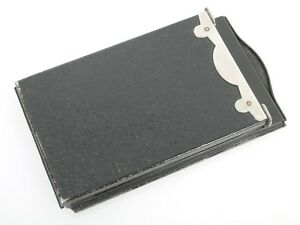 Plattenhalter Filmpack Rückteil back for Planfilm for 6,5x9cm for plate Cameras