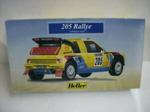 33-Heller-Erer-1-43-Peugeot-peugeot-205-Rally-Probably-The-Outer-Box-Used-Goods