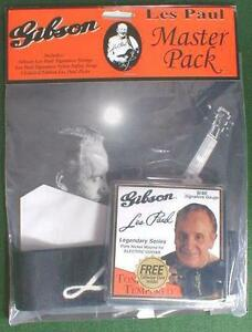 LES-PAUL-GUITAR-STRAP-STRINGS-PICKS-GIBSON-MASTER-PACK