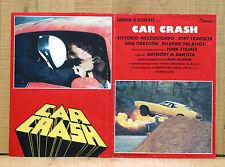 CAR CRASH fotobusta poster affiche Stock Cars Vittorio Mezzogiorno Ana Obregon